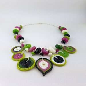 Party Necklace - Disks