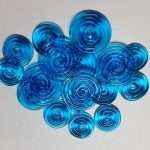 Turquoise Textured Disks