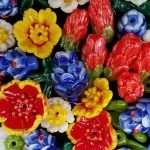 Group of Texas Wildflower Beads